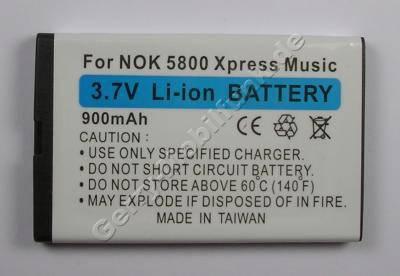 Akku Nokia Lumia 520 (entspricht BL-5J) LiIon 900mAh 3,7V 9,5mm Akku vom Markenhersteller mit 12 Monaten Garantie, nicht original Nokia