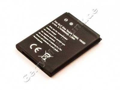 Akku Alcatel One Touch 1042D Li-Ion, 3,7V, 400mAh 1,5Wh