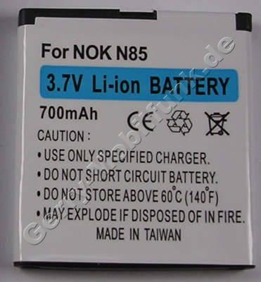Akku Nokia C7-00s Oro (entspricht BL-5K) LiIon 1250mAh 4,6Wh 3,7Volt Akku vom Markenhersteller mit 12 Monaten Garantie, nicht original Nokia