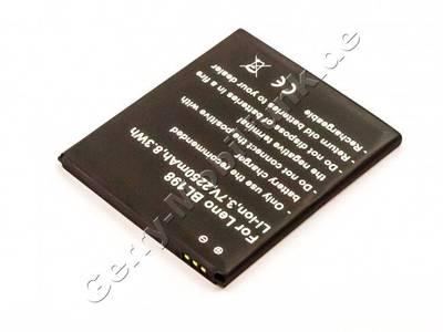 Akku LenovoBL198 LiIon Akku mit 3,7Volt 2250mAh, 8,3Wh