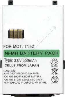 Akku Motorola T192 NiMh 550mAh 3,6V 7mm
