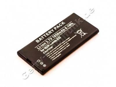 Akku für Nokia Lumia 820 Qualitätsakku aus dem Zubehör, Ersatzakku 1650mAh 6,1Wh 3,7 Volt