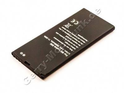 Akku Microsoft Lumia 950 LTE Qualitätsakku LiIon Akku mit 3,8Volt 3000mAh, 11,4Wh