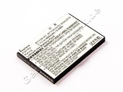 Akku Mobistel EL680, Li-ion, 3,7V, 800mAh, 3,0Wh
