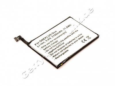 Akku ONEPLUS One Li-Ion 3,8V 3100mAh 11,8Wh