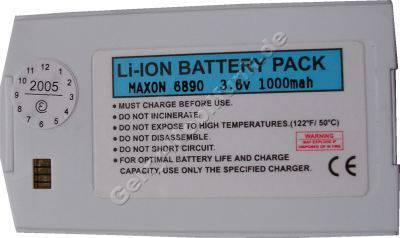 Akku MAXON 6890 Akku (Li-ion) 3,6V  1000 mAh