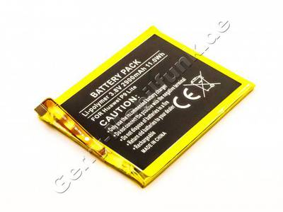 Akku Huawei P9 Lite Li-Polymer Akku mit 3,8Volt 2900mAh 11,0Wh