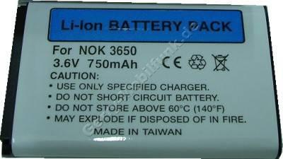 Akku Nokia 3120 Li-Ion 1000 mAh 3,7 Wh 6,5mm Akku vom Markenhersteller mit 12 Monaten Garantie, nicht original Nokia (entspricht BL-5c, BL-5CA)