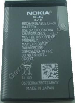 BL-4C original Akku Nokia 2690 3,7 Volt 860mAh 3.2Wh