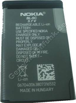 BL-5C original Akku Nokia 1600