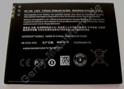 BV-T4D original Akku Microsoft Lumia 950 XL und DSXL und Lumia 950 LTE 3,85Volt 3270mAh  ( aktuell haben wir keine Lieferinformationen wann der Akku wieder verfügbar sein wird ! )