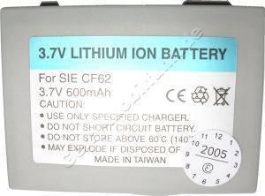 Akku Siemens AX65 LiIon 750mAh 2,8Wh 3,7Volt