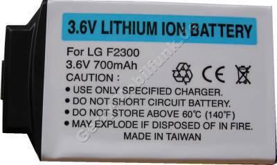 Akku LG F2410 LiIon 700mAh 3,6V 5,5mm