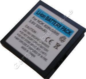 Akku Nokia N73 Li-Ion 800mAh 3,6Volt 6,7mm Akku vom Markenhersteller