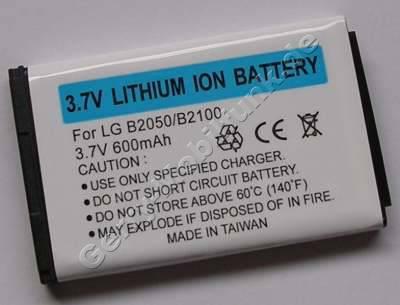 Akku LG B2050 ( baugleich LGTL-GBIP-830 )LiIon 600mAh 3,6V 4,7mm silber