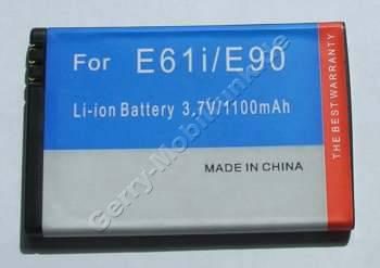 Akku Nokia E52 LiIon 1500mAh 3,7Volt 4,8mm ca. 27g 5,6Wh (entspricht BP-4L) Akku vom Markenhersteller