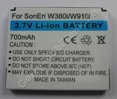Akku SonyEricsson W910i (entspricht BST-39) LiIon 700mAh 5,8mm