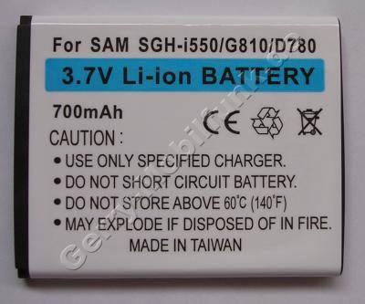 Akku Samsung SGH D780 (entspricht AB474350BECSTD) LiIon 700mAh 3,7Volt Akku vom Markenhersteller