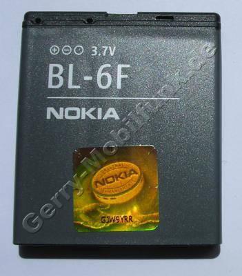 BL-6F original Akku Nokia N95 8GB 1200mAh LiPolymer Akku mit Hologramm