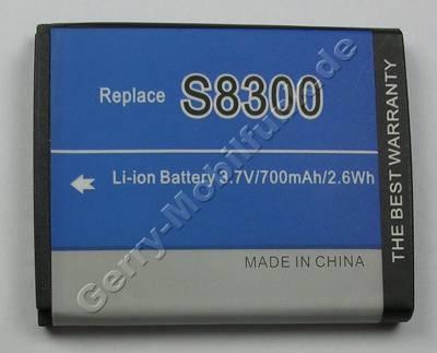 Akku SAMSUNG SGH-J200 (entspricht AB533640BE) Li-ion, 3,7 Volt, 700mAh, 2,6Wh