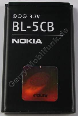 BL-5CB original Akku Nokia 1616 800mAh