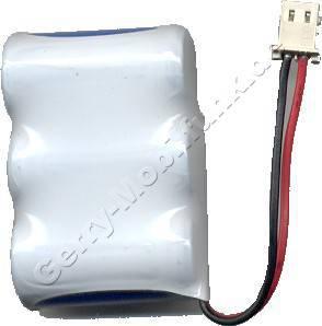 Akku für GTE NiCd 300mAh 3,6V Geräte: 100 2000 3150 3350 31500 Solit100 Solit200