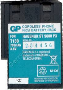 Akku für Hagenuk ST9000PX NiCd 600mAh 3,6V