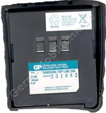 Akku für Samsung Topline 200/300 NiCd 700mAh 3,6V baugleich mit SNA865-07