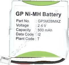 Akku für Samsung SP-R6100 NiMh 500mAh 2,4V ( baugleich mit H038C, H107C, H947C, H915C )