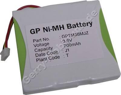 Akku für Schneider CP900 und CP900AM NiMh 700mAh 3,6V