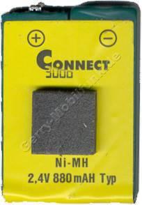 Akku für Siemens Gigaset 2000c pocket NiMh 880mAh 2,4V