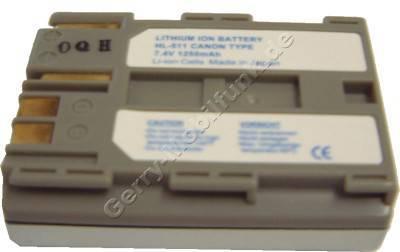 Akku Canon PowerShot G1 Daten: 1500mAh LiIon 21mm grau (Zubehörakku vom Markenhersteller)