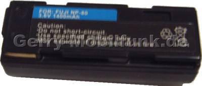 Akku Fujifilm NP-80 (Fine Pix 4800 4900 6800 6900 MX1700 MX2700 MX2900) Daten: 1800mAh 3,7V LiIon 20,3mm (Zubehörakku vom Markenhersteller)