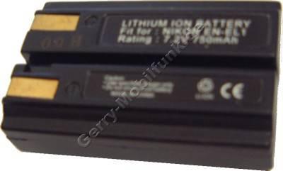 Akku Minolta DiMAGE A200 Daten: 720mAh 7,4V LiIon 15,7mm (Zubehörakku vom Markenhersteller)