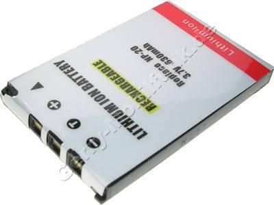 Akku Casio Exilim EX-Z3, EX-Z4 Daten: LiIon 3,7V  630 mAh, 4,5mm (Zubehörakku vom Markenhersteller)