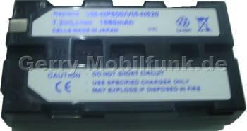 Akku SONY CCD-TR3000E Daten: LiIon 7,2V  1850 mAh, 20,5mm (Zubehörakku vom Markenhersteller)