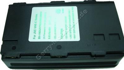 Akku JVC BN-V8GU Daten: NiMH 9,6V  2100 mAh, 30,5mm (Zubehörakku vom Markenhersteller)