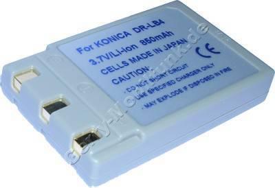 Akku Konica Dimage G500 Daten: LiIon 3,7V  850mAh 9mm (Zubehörakku vom Markenhersteller)