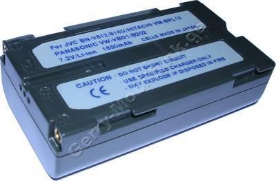 Akku HITACHI VM-BPL13 Daten: LiIon 7,2V 2000mAh 20mm (Zubehörakku vom Markenhersteller)