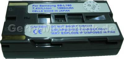 Akku MEDION (Aldi) SB-L160 Daten: LiIon 7,4V 2000mAh 20,5mm (Zubehörakku vom Markenhersteller)