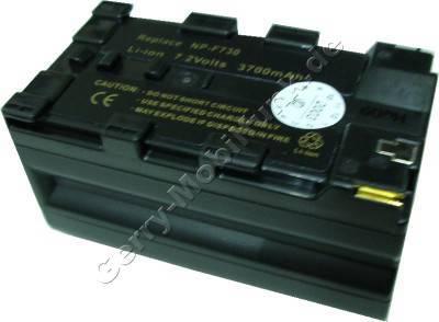 Akku Hitachi VM-BPL27 Daten: LiIon 7,2V 3700mAh mit Schlitzen (Zubehörakku vom Markenhersteller)