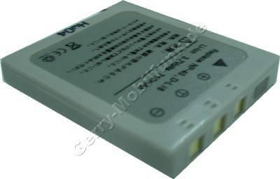 Akku Fujifilm FinePix F810 Daten: 710mAh 3,7V LiIon 6mm (Zubehörakku vom Markenhersteller)