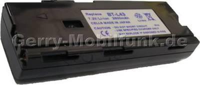 Akku SHARP VL-PD1H dunkelgrau Daten: LiIon 7,2V 3000mAh 20,5mm  (Zubehörakku vom Markenhersteller)
