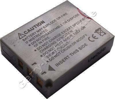Akku OLYMPUS µ-mini Digital schwarz Daten: LiIon 3,6V 645mAh 8,2mm (Zubehörakku vom Markenhersteller)