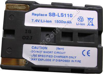 Akku ALDI MEDION MD80566 Daten: LiIon 7,4V 1500mAh  20,2mm (Zubehörakku vom Markenhersteller)