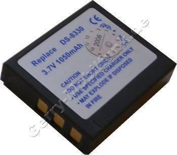 Akku MegaPix Vx8 Daten: 1250mAh 3,7V LiIon 7mm (Zubehörakku vom Markenhersteller)