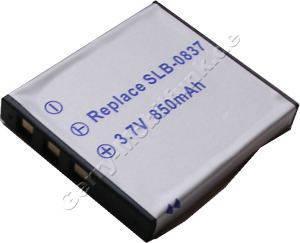 Akku SAMSUNG SLB-0837 Digimax NV50 Daten: LiIon 3,7V 850mAh 5,4mm (Zubehörakku vom Markenhersteller)
