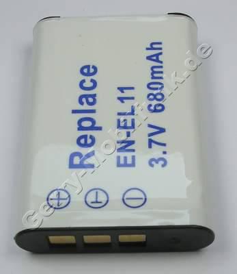 Akku für PENTAX Optio V20, D-LI 78, 680mAh (Zubehörakku vom Markenhersteller)