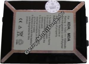 Akku für O2 XDA II XDA2 LiPolymer 3,6V 1200mAh 4,2mm dick ca.39g (Akku vom Markenhersteller, nicht original)