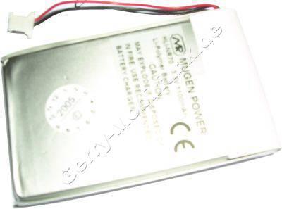 Akku für Sony Clie PEG-NX80 LiPolymer 3,7V 1200mAh 5,3mm dick ca.25g  (Akku vom Markenhersteller, nicht original)